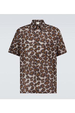 Nanushka Adam printed short-sleeved shirt