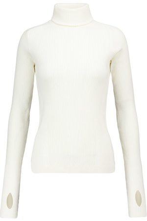 Reebok Ribbed-knit cotton-blend sweater