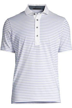 GREYSON Men Polo Shirts - Men's Callawasee Striped Polo Shirt - - Size XL