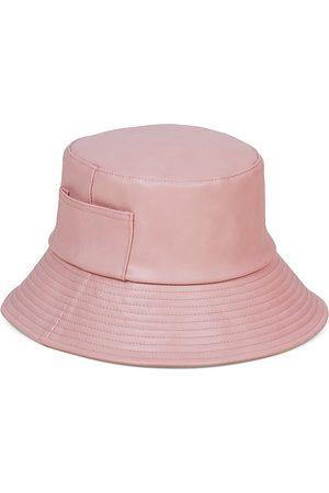 Lack of Color Women's Wave Vegan Leather Bucket Hat - - Size S M