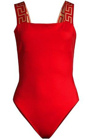 VERSACE Women's One-Piece Swimsuit - - Size 4 (Large)