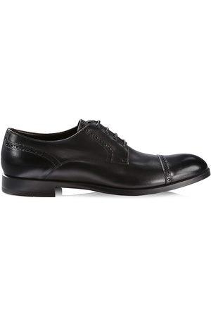 Ermenegildo Zegna Men's Siena Flex Captoe Derby Shoes - - Size 11