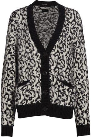 Mother Women's The Oversized Alpaca-Blend Knit Cardigan - - Size Medium