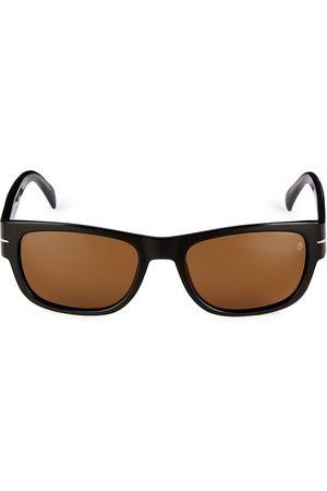 David beckham Men's 56MM Rectangular Sunglasses