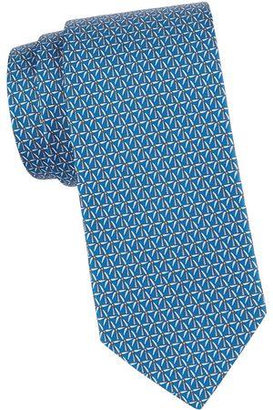 Salvatore Ferragamo Men's Windmill Silk Tie