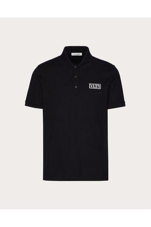 VALENTINO Men Polo Shirts - Polo With Vltn Tag Man Cotton 100% XL