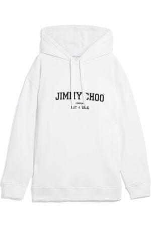 Jimmy Choo Women Hoodies - Jc College-Hoodie