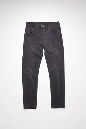 Acne Studios River Used Blk Slim tapered jeans