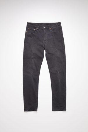 Acne Studios River Used Blk Slim tapered jeans