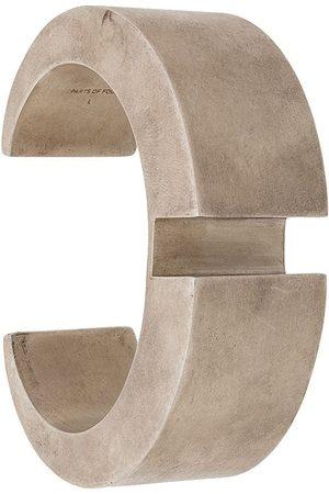 PARTS OF FOUR Crescent Rift 30mm bracelet