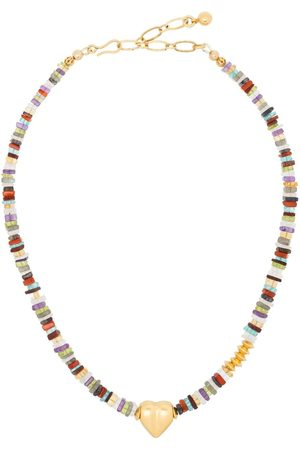 Brinker & Eliza Heart pendant gemstone necklace