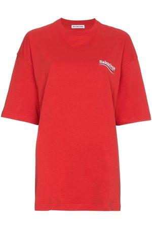 Balenciaga Women T-shirts - Logo print T-shirt