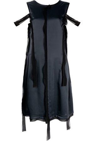 Maison Margiela Asymmetric distressed-effect dress