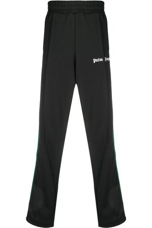 Palm Angels Men Sweatpants - College side stripe track pants