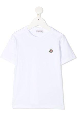 Moncler Boys T-shirts - Logo patch T-shirt