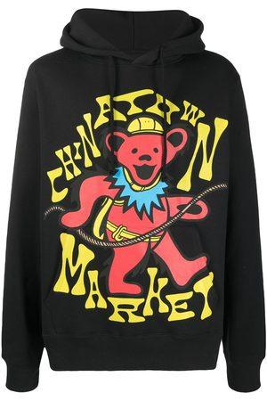 Chinatown Market Logo-print drawstring hoodie