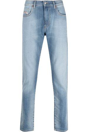 Diesel Mid-rise slim-fit jeans