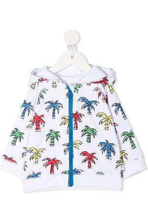 Stella McCartney Doodly Palms zip hoodie