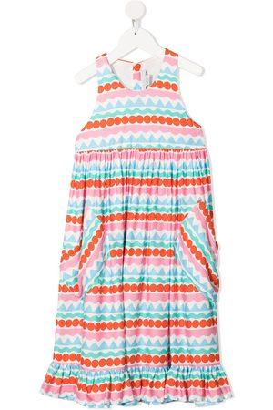 Stella McCartney Girls Casual Dresses - Graphic striped dress