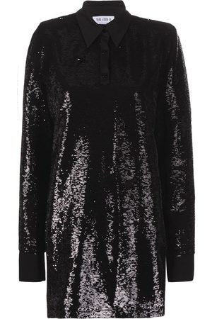 The Attico Sequin-embellished mini dress