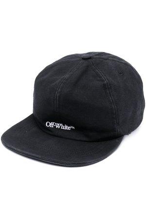 OFF-WHITE Embroidered-logo baseball cap