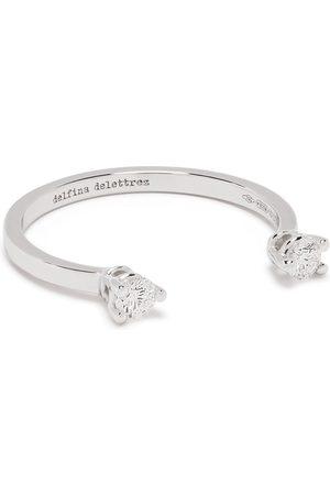Delfina Delettrez Women Rings - 18kt white gold diamond Dots ring