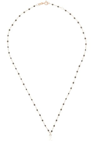 GIGI CLOZEAU Women Necklaces - 18K rose gold Gigi Supreme beaded diamond necklace