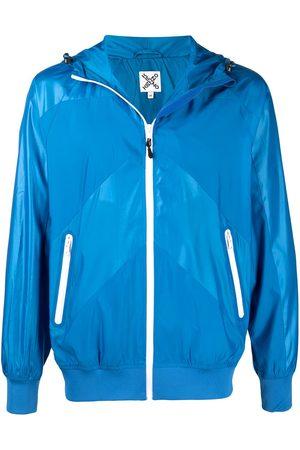 Kenzo Panelled hooded jacket