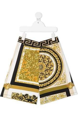 VERSACE Boys Shorts - Barocco print shorts