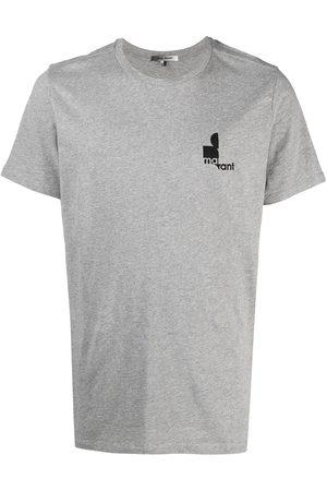 Isabel Marant Logo-print T-shirt - Grey