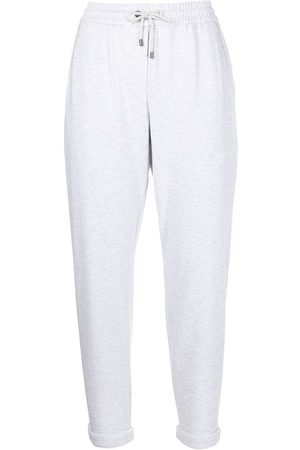 Brunello Cucinelli Cropped track pants - Grey