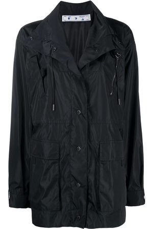 OFF-WHITE Arrows buttoned raincoat