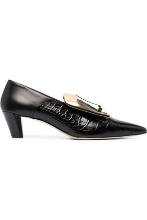 PORTS 1961 Oversized buckle pumps