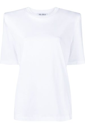 The Attico Shoulder-padded T-shirt