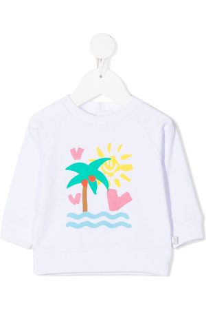 Stella McCartney Palm tree-print sweatshirt