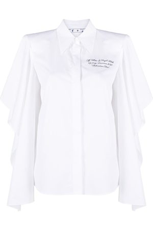OFF-WHITE Billowing-sleeve shirt