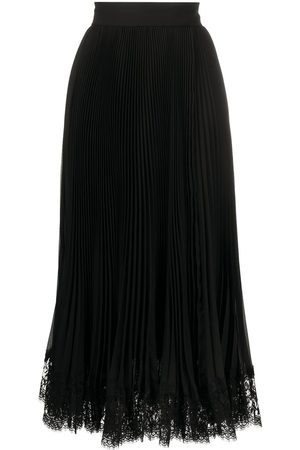 Dolce & Gabbana Plissé mid-length skirt