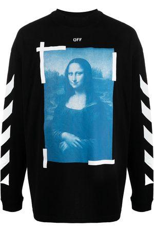 OFF-WHITE Mona Lisa cotton sweatshirt