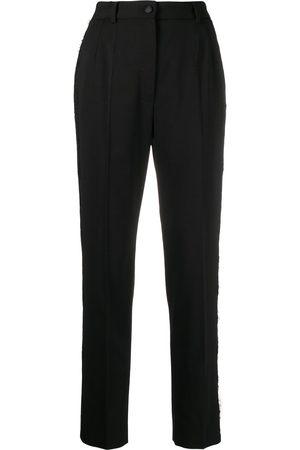 Dolce & Gabbana Lace trim tailored trousers
