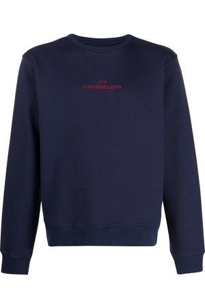 Maison Margiela Embroidered inverted logo sweatshirt