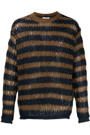 Kenzo Oversized striped knitted jumper