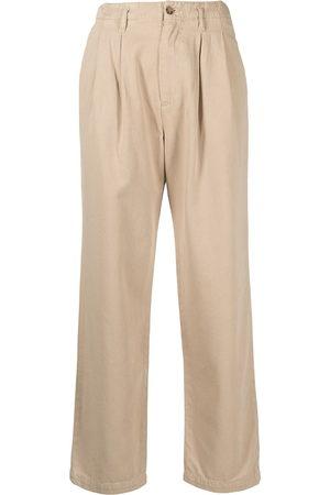 Boyish Jeans Women Straight Leg Pants - Harry straight-leg trousers - Neutrals