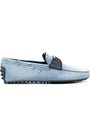 Tod's Men Loafers - Gommino denim loafers