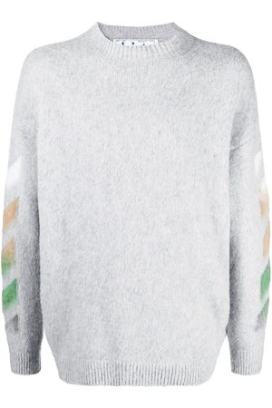 OFF-WHITE Arrows knitted jumper - Grey