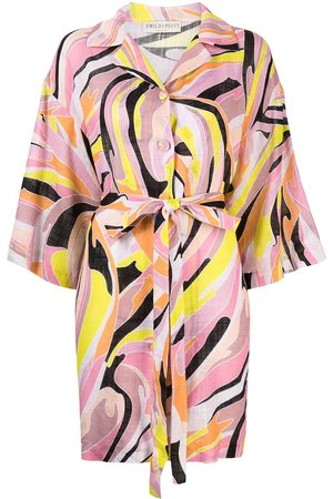 Emilio Pucci Vetrate wrap-style dress