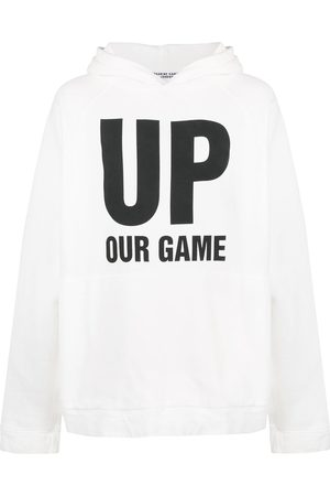 KATHARINE HAMNETT LONDON Oversized slogan print hoodie