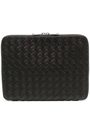 Bottega Veneta Intreacciato zip-around laptop case