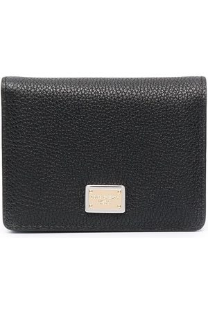 Dolce & Gabbana Logo-plaque leather wallet