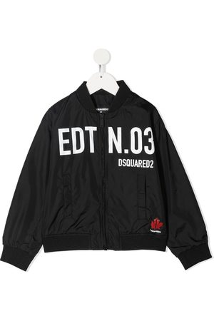 Dsquared2 Logo-print bomber jacket
