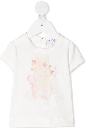 MONNALISA Teddy bear print T-shirt